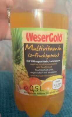 Multivitamin 12-Fruchtgetränk - Produkt - de