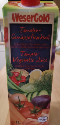 Tomaten-Gemüsesaftcocktail - Product