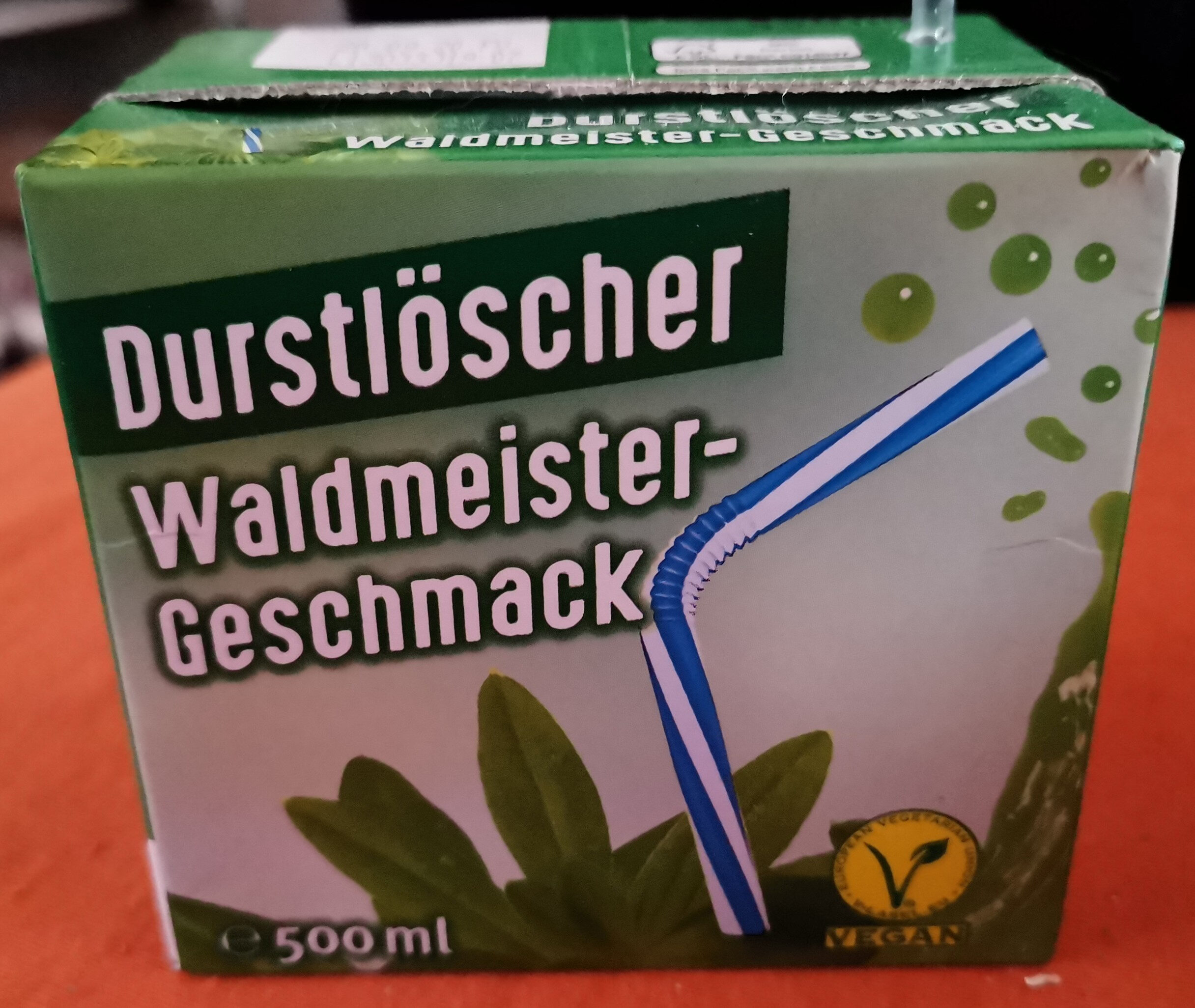 Durstlöscher Waldmeister-Geschmack - Produkt - de