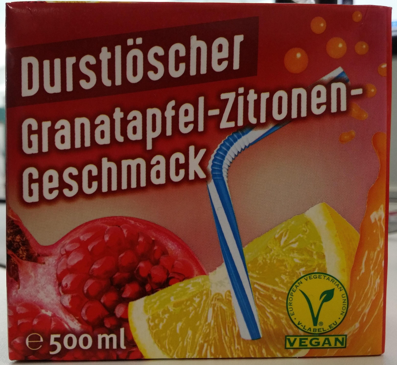Durstlöscher Granatapfel-Zitronen-Geschmack - Product - de