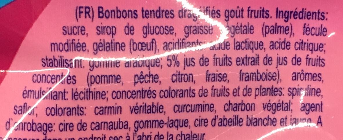 Confetti fruité & craquant - Ingrédients - fr