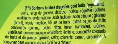 Confetti Bonbon - Ingrédients - fr