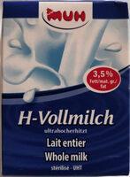 Muh H-Vollmilch - 产品 - de