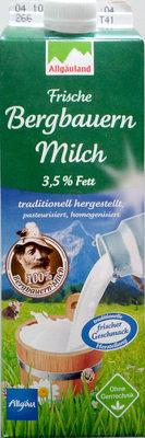 Frische Bergbauern Milch 3,5% Fett - Product