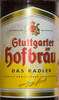 Stuttgarter Hofbräu Das Radler - Produkt