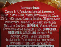 Currywurst sauce - Ingredients