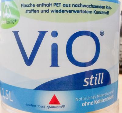 Vio  Mineralwasser still - Produto - de