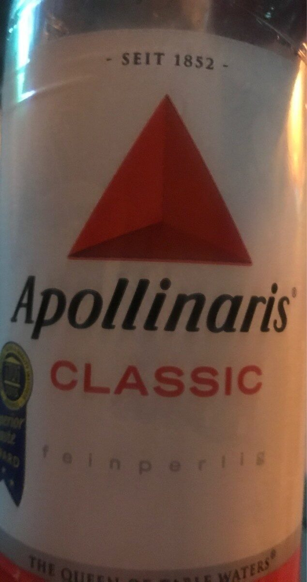 Apollinaris Classic Mit Kohlensäure - Prodotto - de