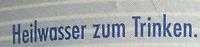Staatl. Fachingen Still - Ingredienti - de