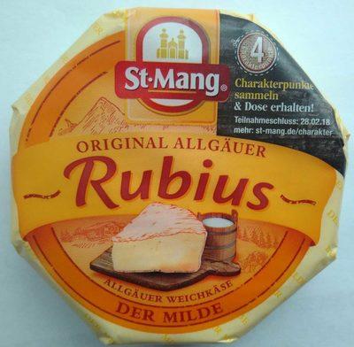 Original Allgäuer Rubius, der Milde - Produkt