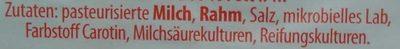 Original Allgäuer Rubius, der Milde - Zutaten
