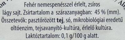 Striegistaler Zwerge - Ingrédients - hu