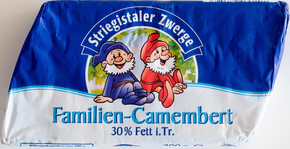 Familien-Camembert 30 % Fett i. Tr. - Produit - de