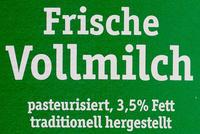 Frische Bergbauern Milch - Ingrédients - de