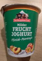 Milder Fruchtjoghurt Pfirsich-Maracuja - Product