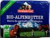 Bio-Alpenbutter - Produkt