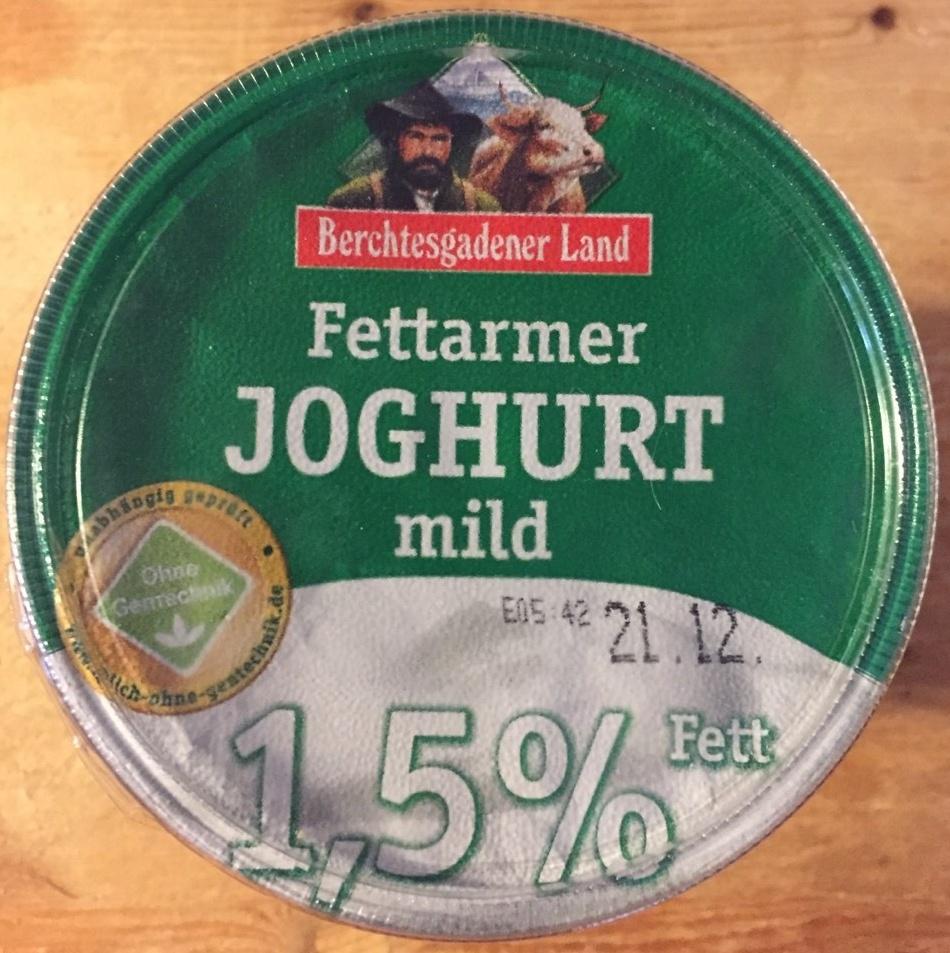 Fettarmer Joghurt, mild - Product