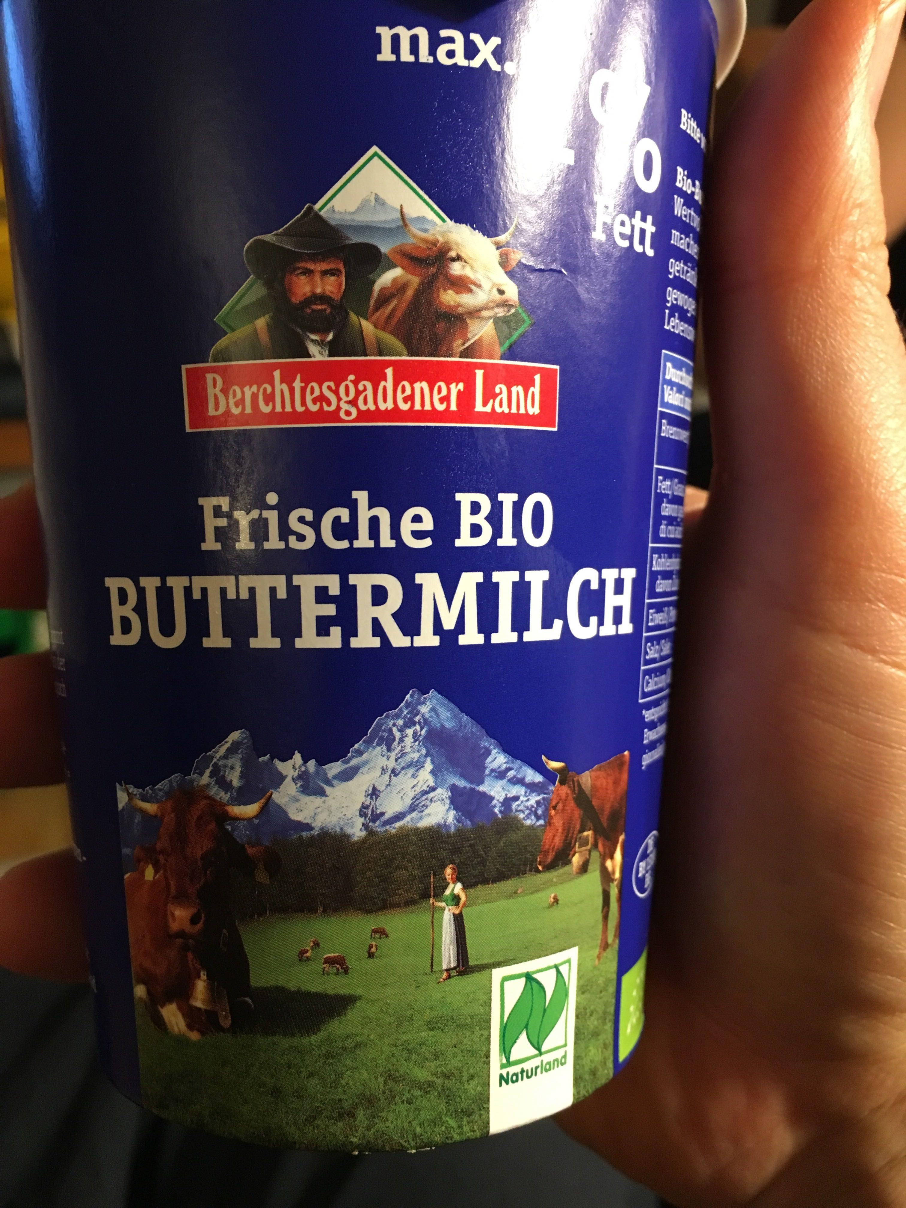 Bio-Buttermilch - Produit - de