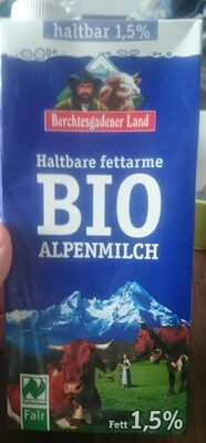 Haltbare Bergbauern Milch, 1, 5 % - Produkt - de