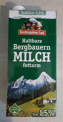 Haltbare Bergbauern Milch fettarm - Product - de