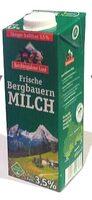 Frische Bergbauern Milch - Product - de