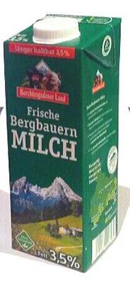 Frische Bergbauern Milch - Produit