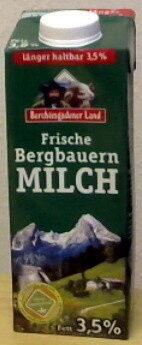 Frische Bergbauern Milch - Produit - de