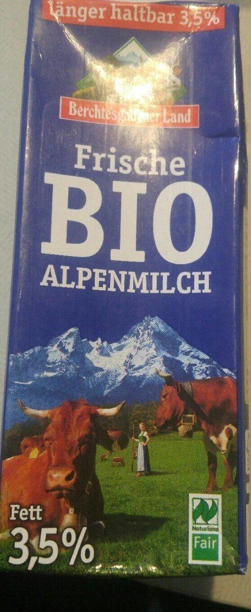 Frische BIO Alpenmilch - Prodotto - de