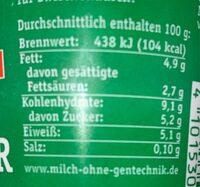 Natur Knusper - Informations nutritionnelles - fr