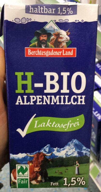 H-Bio Alpenmilch Laktosefrei - Product - de