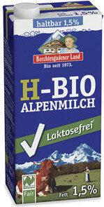 H-Bio Alpenmilch 1,5% - Produkt - de