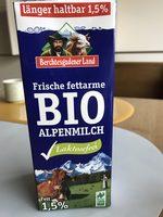 Bio-Milch laktosefrei, Fett 1,5 % - Produit - de