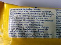 Marmor Snack - Inhaltsstoffe