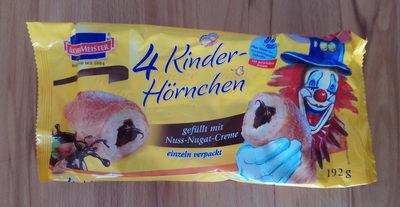 4 Kinder-Hörnchen - Produkt