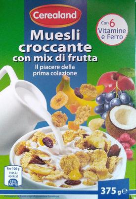 Muesli croccante con mix di frutta - Product - it
