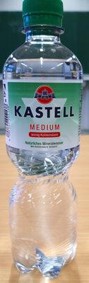Kastell medium wenig Kohlensäure - Produit - de
