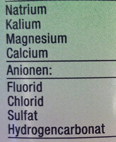 Kastell medium wenig Kohlensäure - Ingrédients - de