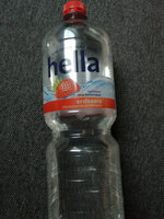 Hella Wasser mit Geschmack Erdbeer - Product - de