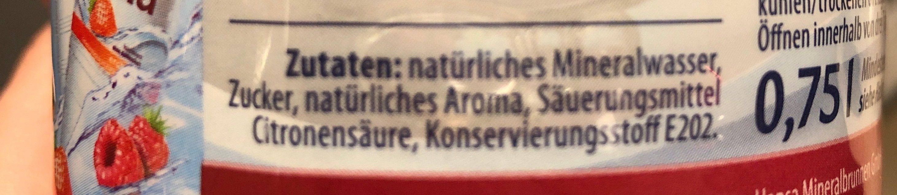 Hella kirsche - Ingredients - de