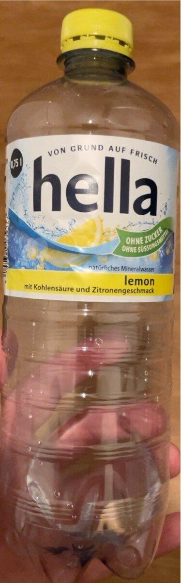 Natürliches Mineralwasser - Lemon - Product - de