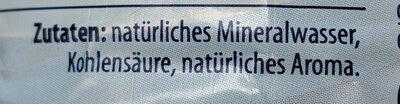 Natürliches Mineralwasser - Lemon - Ingredients - de