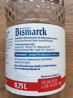 Bismarck - Ingredients - de