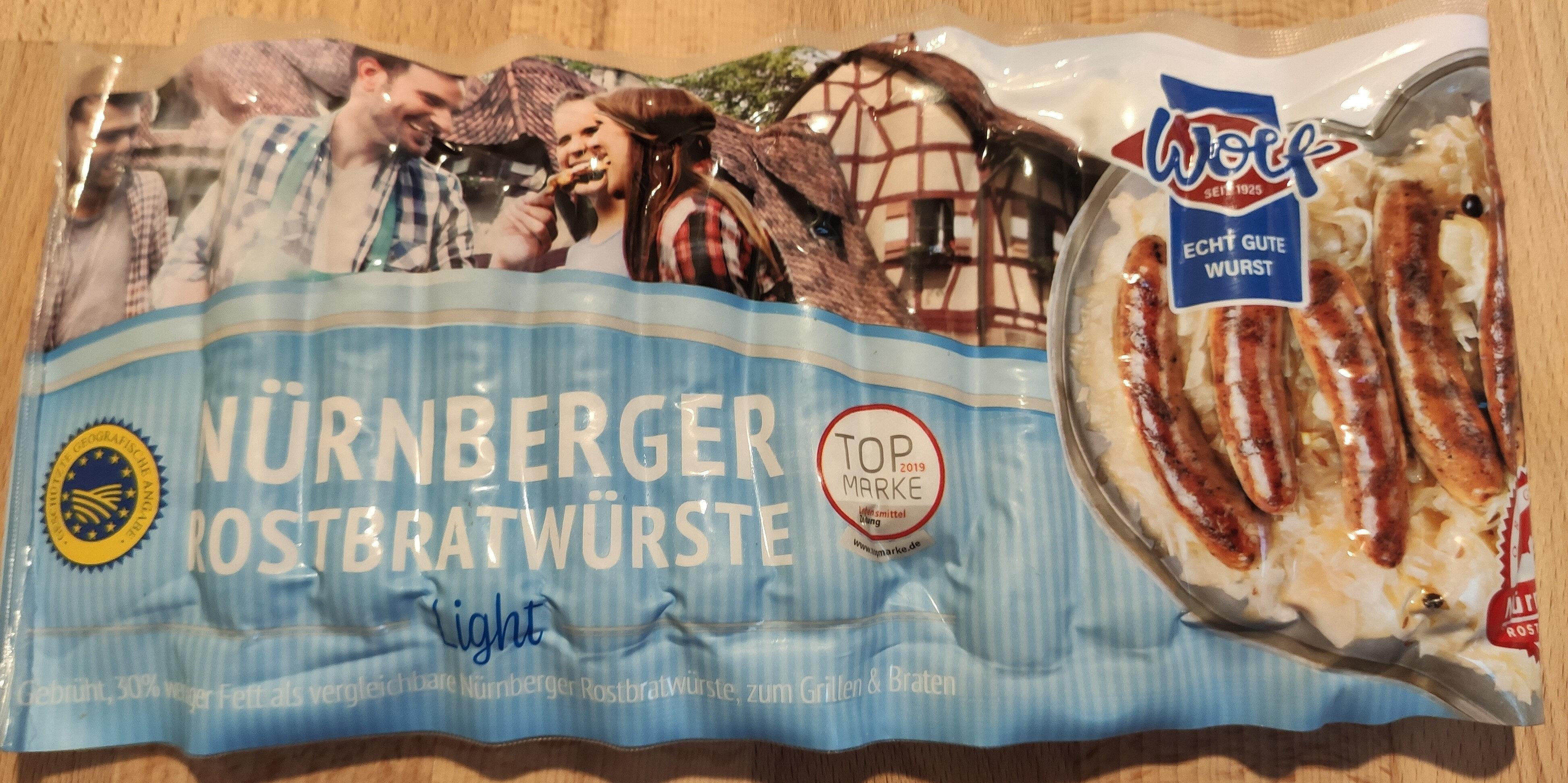 Nürnberger Rostbratwürste - Product - de