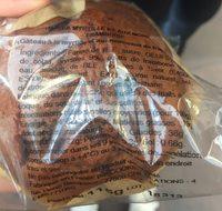 Muffin myrtilles framboises - Ingrédients - fr