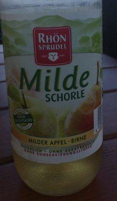 MildeSchorle - Product