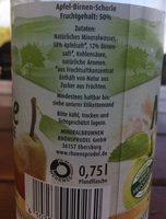 MildeSchorle - Ingrediënten