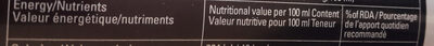 3x energy - Informations nutritionnelles - fr