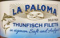 Thunfisch In Eigenem Saft Und Aufguss (la Paloma) - Produkt - de