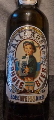 Allgäuer Brauhaus Büble Bier Edel Weizen - Product - de