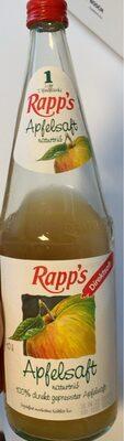 Rapp's Apfelsaft - Produit